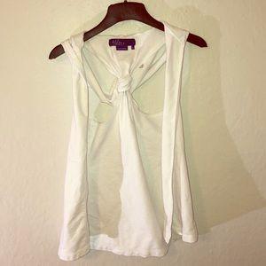 Miley Cyrus Tie-Back Vest